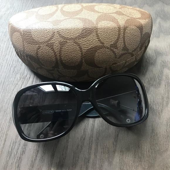 39fe6d6789d2 Coach Accessories | Odessa Smokedlens Sunglasses W Case | Poshmark